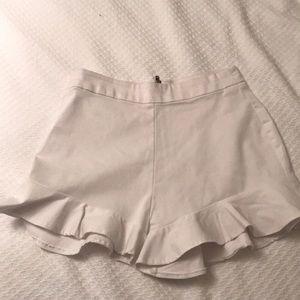 Zara flutter shorts